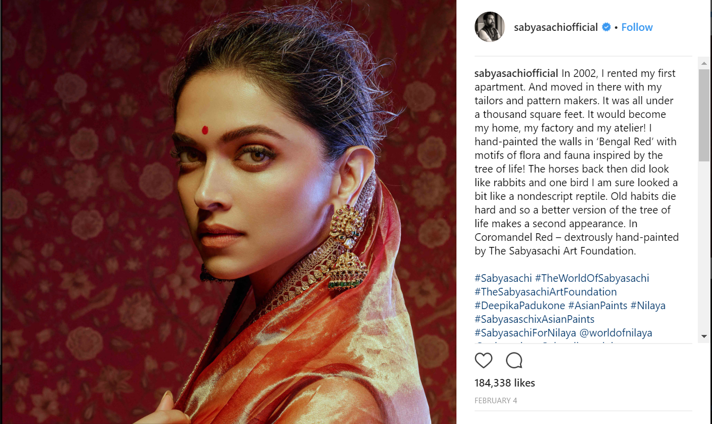 Fantastic-Things-You-Can-Learn-from-These-Instagram-Business-Accounts-Sabyasachi