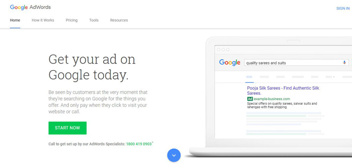 google-adwords-account-setup-step1